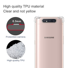 Shockproof Transparent Case For Samsung Galaxy A80