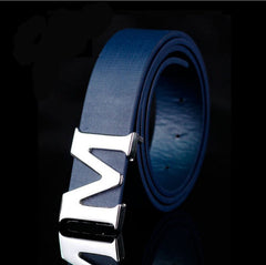 Luxury High Quality M Grid Belts
