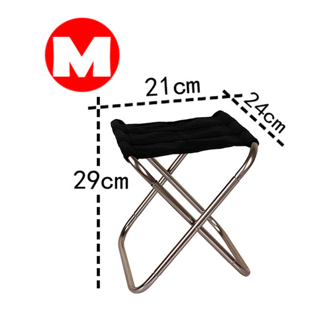 Folding Fishing Chair Lightweight Picnic Camping Chair
