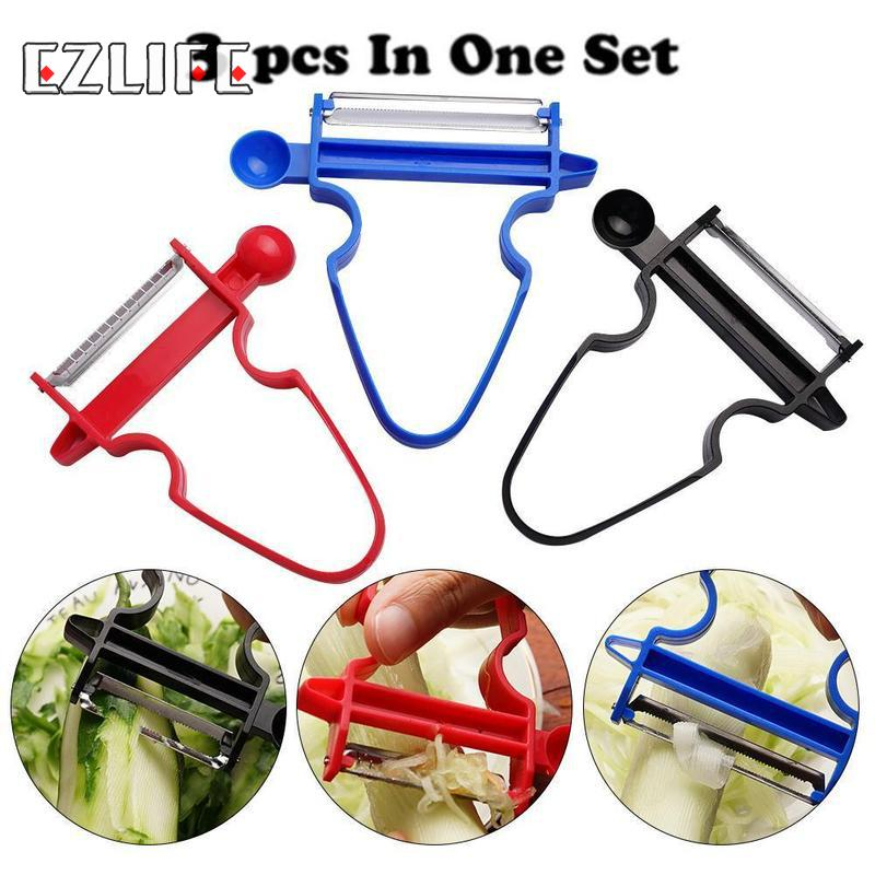 3pcs/set Fruit Peelers Creative Multi-function