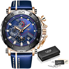 Men's Top Brand Sport Chronograph Casual Watches