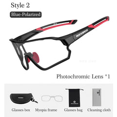 Bicycle Glasses Polarized 5 Lens Cycling Glasses
