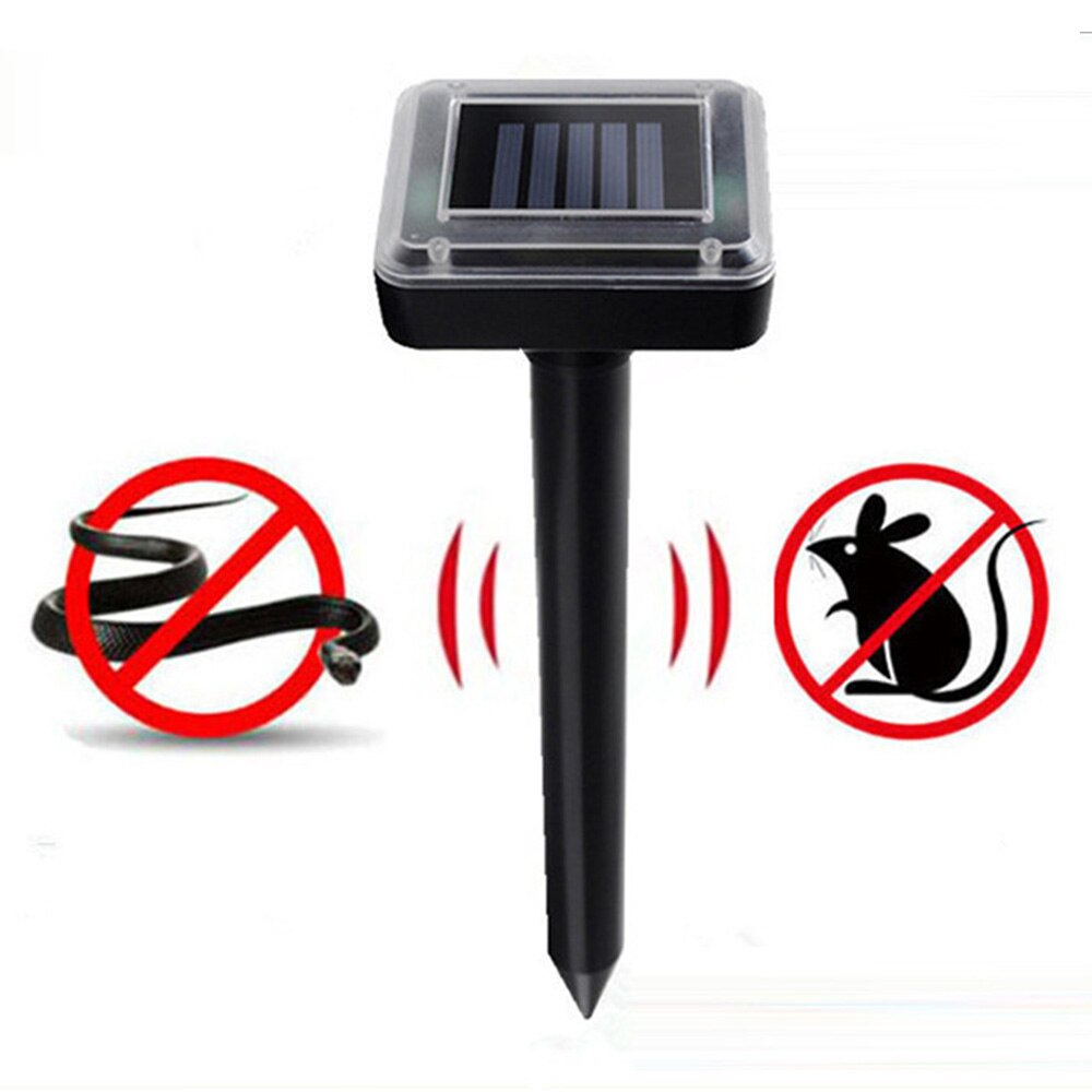 Outdoor solar ultrasonic snake bird mosquito mouse ultrasonic insect repellent