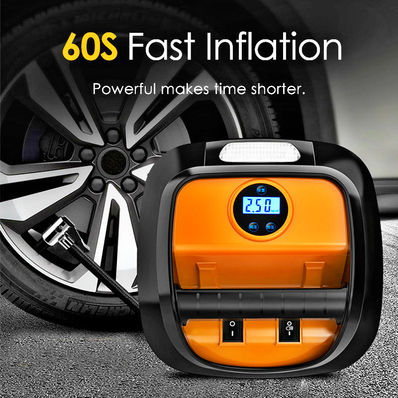 12V Automobile Portable Car Air Pump