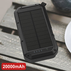 Multifunctional solar outdoor charging camping lamp