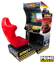 Load image into Gallery viewer, 107 Racing Games in 1 Arcade Machine with Seat