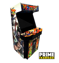 Load image into Gallery viewer, 3,016 Games in 1 Four Player Stand Up Arcade 32″ LED Monitor With Trackball - Prime Arcades Inc