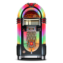 Load image into Gallery viewer, ROCK-OLA BUBBLER CD JUKEBOX IN BLACK - Prime Arcades Inc