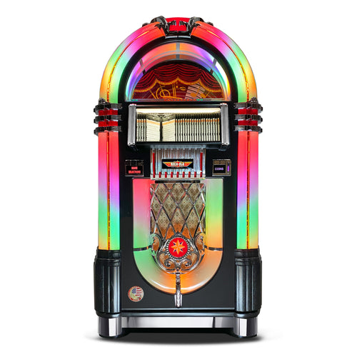 ROCK-OLA BUBBLER CD JUKEBOX IN BLACK - Prime Arcades Inc