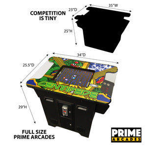 60 Games in 1 Cocktail Arcade - Prime Arcades Inc