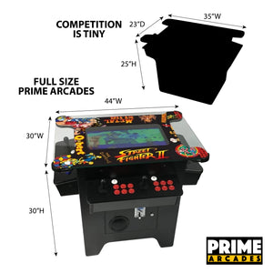 1,162 Games in 1 Cocktail Arcade - Prime Arcades Inc