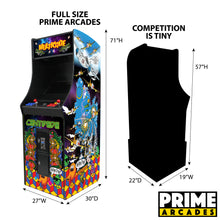 Load image into Gallery viewer, 412 Games in 1 Stand Up Arcade - Prime Arcades Inc