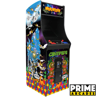 412 Games in 1 Stand Up Arcade - Prime Arcades Inc