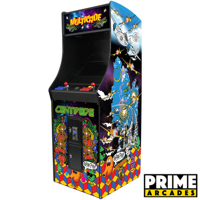 60 Games in 1 Stand up Arcade - Prime Arcades Inc