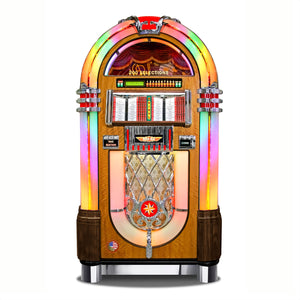 ROCK-OLA AUTHENTIC BUBBLER VINYL 45 WITH BLUETOOTH 'NEW FOR 2020' WALNUT - Prime Arcades Inc