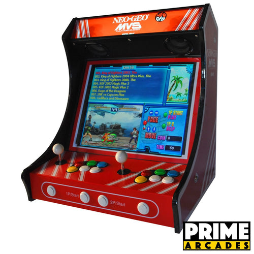 Bar Top Arcade Machine 750 Games in 1 - Prime Arcades Inc