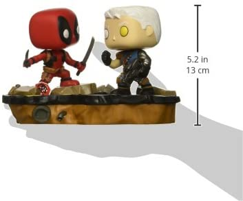 Funko Pop ! Comic Moments - Marvel - Deadpool vs. Cable