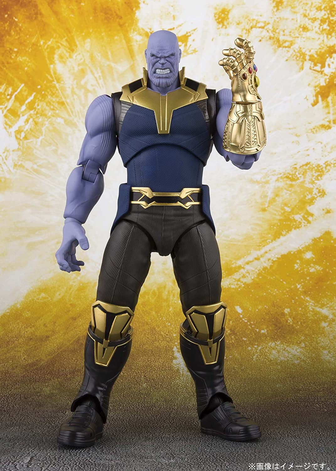 S.H.Figuarts Figures Avengers Infinity Wars Movie Thanos (Final Battle Edition)