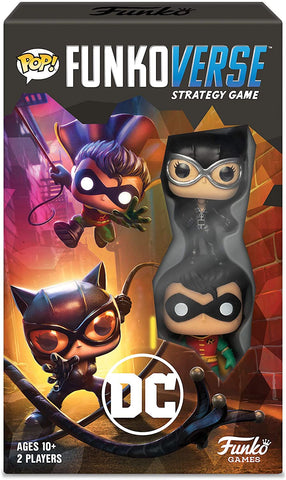 Pop! Funkoverse Strategy Games DC Comics 101 Expandalone