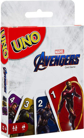 Card Games - UNO - Marvel Avengers Mattel