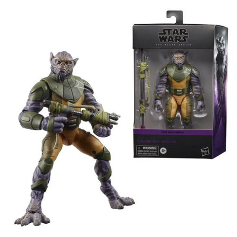 Star Wars The Black Series Zeb Orrelios figurine articulée de 6 pouces