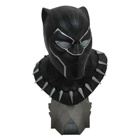 Marvel Legends in 3D Busts AVN3 Movie 1/2 Black Panther 1000ex