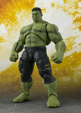S.H.Figuarts Figures - Avengers Infinity Wars Movie HULK (Final Battle Edition)