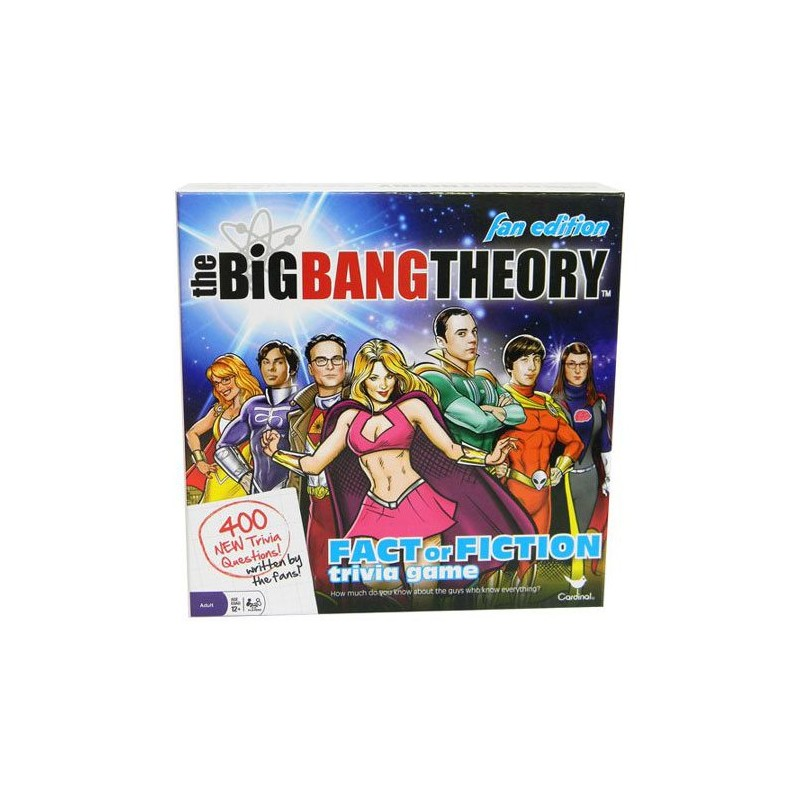 The Big Bang Theory jeu de plateau Trivia Fact or Fiction ANGLAIS