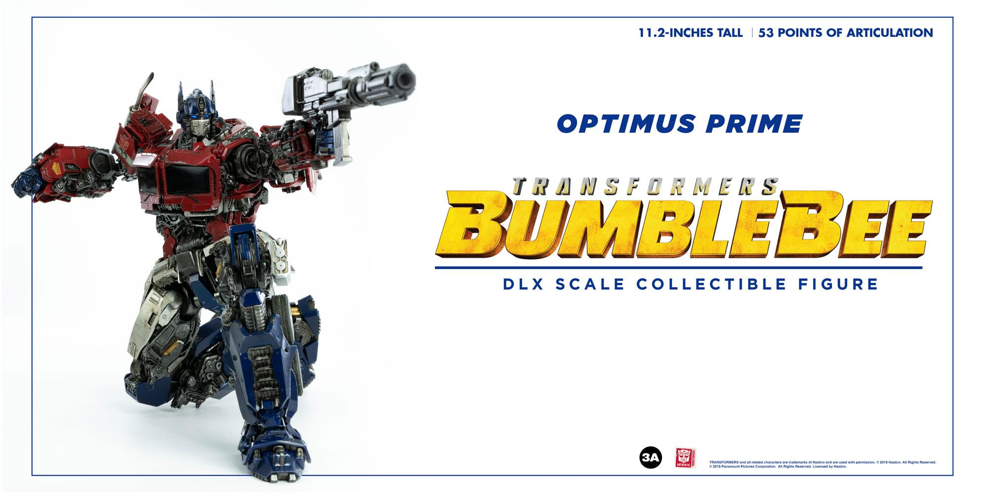 TRANSFORMERS - Bumblebee figurine DLX Scale Optimus Prime 28cm