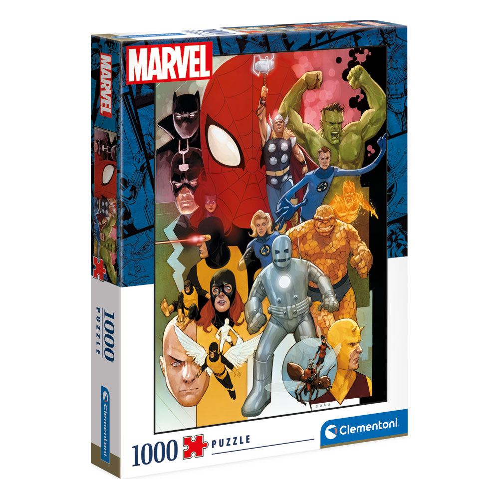 Marvel 80th Anniversary Puzzle CharactersPuzzles Marvel- Puzzle sous licence
