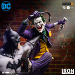 BATMAN VS JOKER BATTLE DIORAMA IVAN REIS de Iron studios Edition limitées