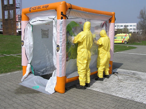 Can It Be Used for Decontamination Tents?