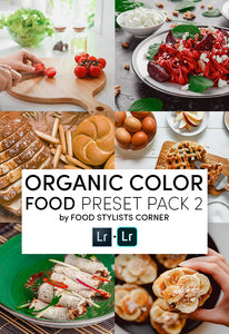 ORGANIC COLOR PRESET PACK 2 by FSC - DIGITAL DOWNLOAD - Food Stylists Corner