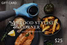 Load image into Gallery viewer, FSC GIFT CAR - Food Stylists Corner