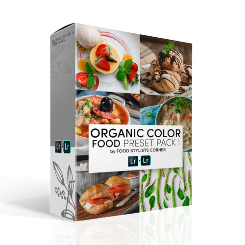 ORGANIC COLOR PRESET PACK 1 by FSC - DIGITAL DOWNLOAD - Food Stylists Corner