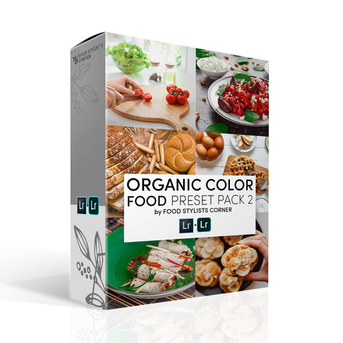 ORGANIC COLOR PRESET PACK 2 by FSC - Food Stylists Corner
