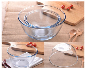 Glass Prep Bowls - Food Stylists Corner