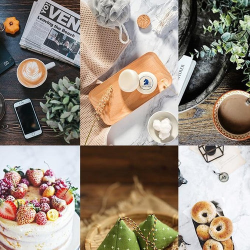 Two Sided 3D Printed Food Photography Backgrounds - Food Stylists Corner