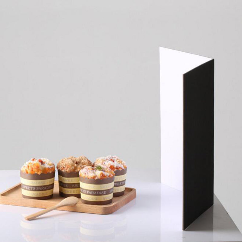 Folding Cardboard Reflectors - Food Stylists Corner