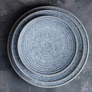 KINGLANG  Ceramic Dinner Plate - Food Stylists Corner