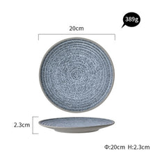 Load image into Gallery viewer, KINGLANG  Ceramic Dinner Plate - Food Stylists Corner