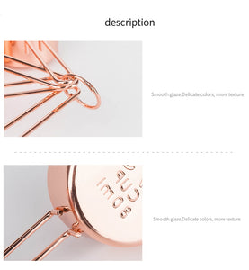 Rose Gold Stainless Steel Measuring Cups, Spoons and Scoops Sets - Food Stylists Corner