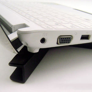 Foldable Laptop Desk Support with Dual Cooling Fans - Food Stylists Corner