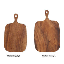 Load image into Gallery viewer, Wood Cutting Boards with Handle - Food Stylists Corner