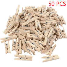 Load image into Gallery viewer, Wood Clothes Pin | 50/100/200 Pcs - Food Stylists Corner