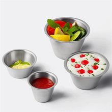 Load image into Gallery viewer, Stainless Steel Sauce Cup - Food Stylists Corner