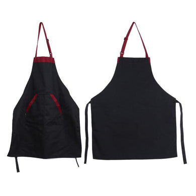 Black/Red Cooking Apron - Food Stylists Corner
