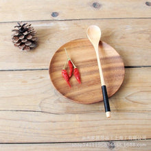Load image into Gallery viewer, Solid Wood Long Handle Coffee Spoon - Food Stylists Corner