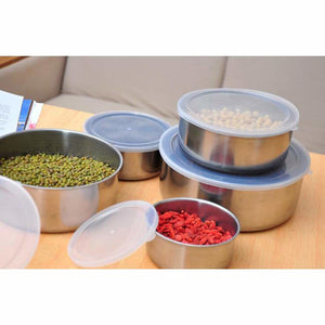 5-piece Stainless Steel Mixing Bowls - Food Stylists Corner