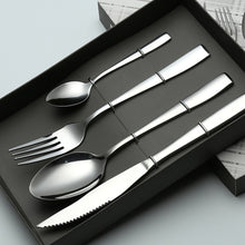 Load image into Gallery viewer, Stainless Steel high-end Western 4pcs/set - Food Stylists Corner